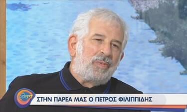 Πέτρος Φιλιππίδης: «Έχω κουραστεί, κάποια στιγμή θα σταματήσω»