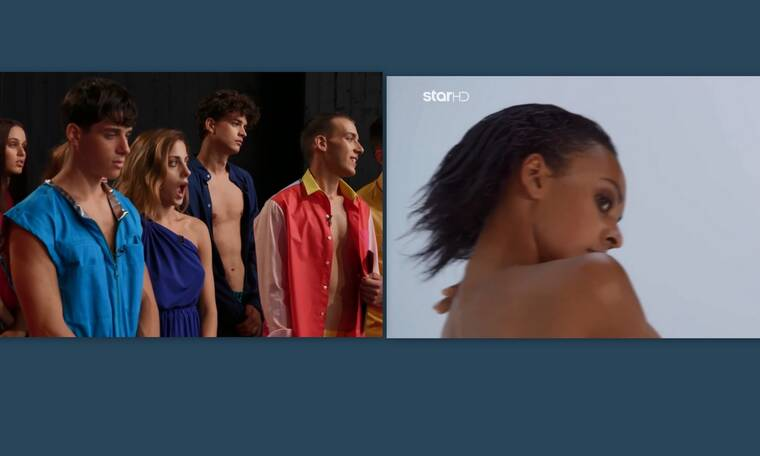 GNTM: Οι πρώτες γυμνές λήψεις άφησαν τους παίκτες με το στόμα ανοιχτό (video)