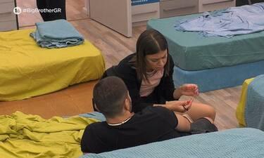 Big Brother: Η Ραΐσα άφησε τους δίδυμους και «στρίμωξε» τον Βλαδίμηρο