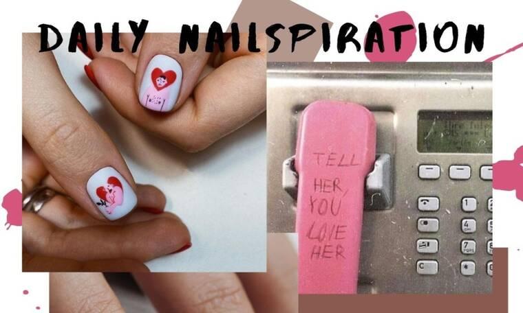 10 ρομαντικά nail art για τα κορίτσια που είναι ερωτευμένα!