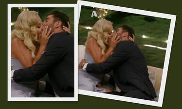 The Bachelor: Παναγιώτης-Έλενα φιλήθηκαν και το Twitter πήρε... φωτιά!
