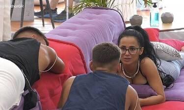 Big Brother: Ο Βαρουξής ζήτησε από τη Χριστίνα να κάνουν... παιδιά (Video)
