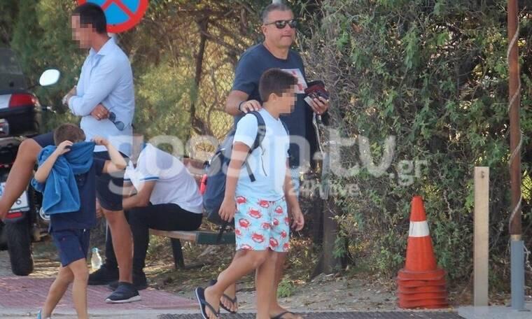 Γιώργος Λιάγκας: Πώς περνάει τον ελεύθερο χρόνο με τα παιδιά του; (photos)