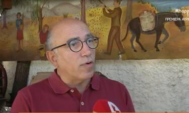 Γρηγορόπουλος:«Φώναζα, ανέβηκε η πίεση μου και κόντεψα να πάθω εγκεφαλικό»