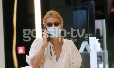 Μαρία Ηλιάκη: Η βόλτα για ψώνια και το look που μας απογοήτευσε