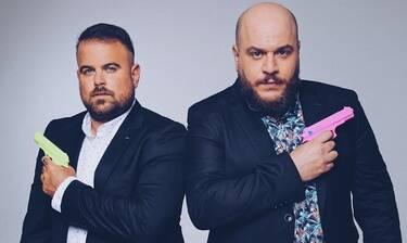 Λαμπρόπουλος – Ράπτης: «Η ελληνική τηλεόραση είναι τυχερή που μας έχει»
