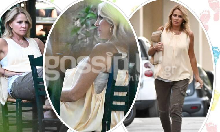Τζένη Μπαλατσινού: Κομψή και πανέμορφη στον έβδομο μήνα της εγκυμοσύνης της!