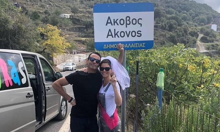 Μενούνος: Οι αδημοσίευτες φωτό της από τον παραδοσιακό της γάμο στην Ελλάδα