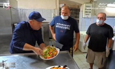 Εφιάλτης στην Κουζίνα: Εκτός εαυτού ο Μποτρίνι - Πέταξε το φαγητό και αποχώρησε