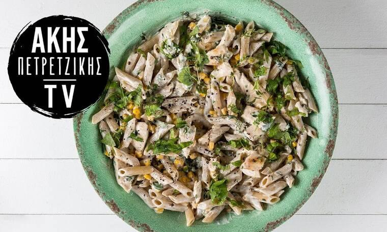 Healthy πένες με κοτόπουλο (High protein) από τον Άκη Πετρετζίκη