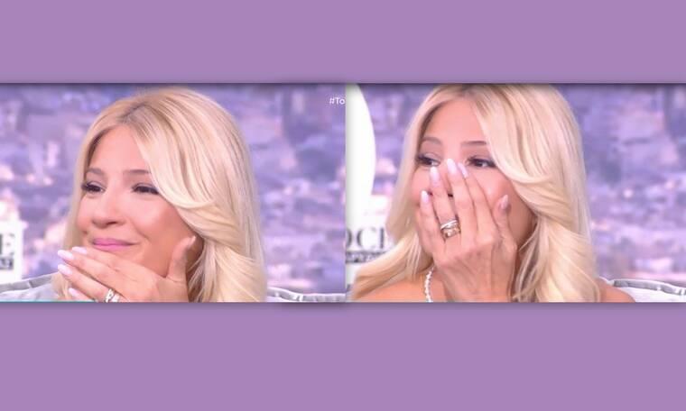 Φαίη Σκορδά: Έβαλε τα κλάματα on air:«Δεν έπρεπε να μου το πεις αυτό τώρα»