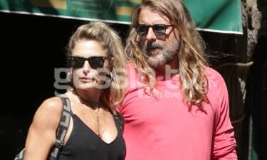Λάσπα – Νικολόπουλος: Σπάνια δημόσια εμφάνιση για το ερωτευμένο ζευγάρι