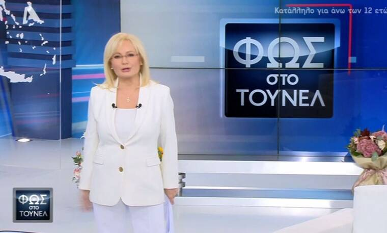 Φως στο τούνελ: Πρεμιέρα για τη Νικολούλη με ένα απίθανο λευκό κοστούμι!