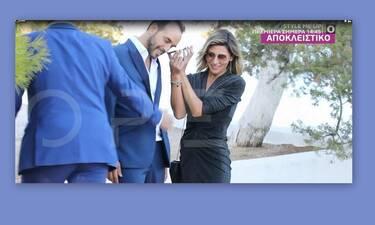 Ζουγανέλη γάμος: Η πρώτη δημόσια εμφάνιση του Μουζουράκη με την αγαπημένη του