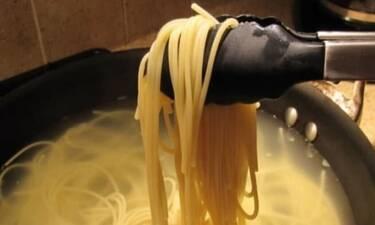 Όταν μαγειρέψεις μακαρόνια, μην κάνεις ξανά αυτό το λάθος