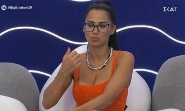 Big Brother: Προβληματισμένη η Χριστίνα με τη συμπεριφορά του Ζακ στο σπίτι