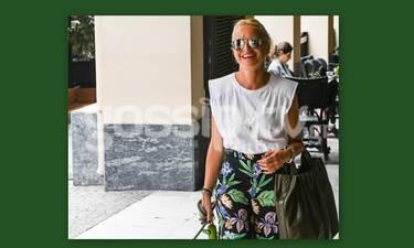 Μαρία Μπεκατώρου: Αδυνατισμένη, χαμογελαστή και στιλάτη στο κέντρο! (Pics)