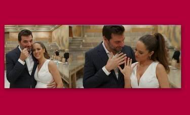 Παναγιώτης Χατζηδάκης: Νέα στιγμιότυπα από τον γάμο του και η συγκίνησή του