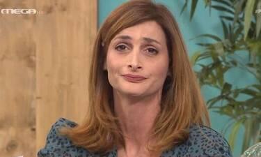 Μαρία Κωνσταντάκη: Η ερώτηση που την ενόχλησε: «Άσε μας με τις σάχλες σου»