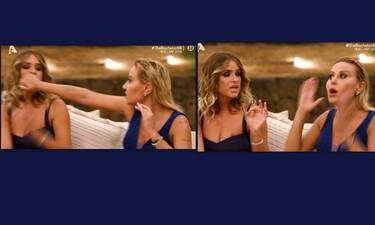 The Bachelor: Χαμός στη τελετή των ρόδων! Η χειρονομία της Μπάση και οι τσιρίδες
