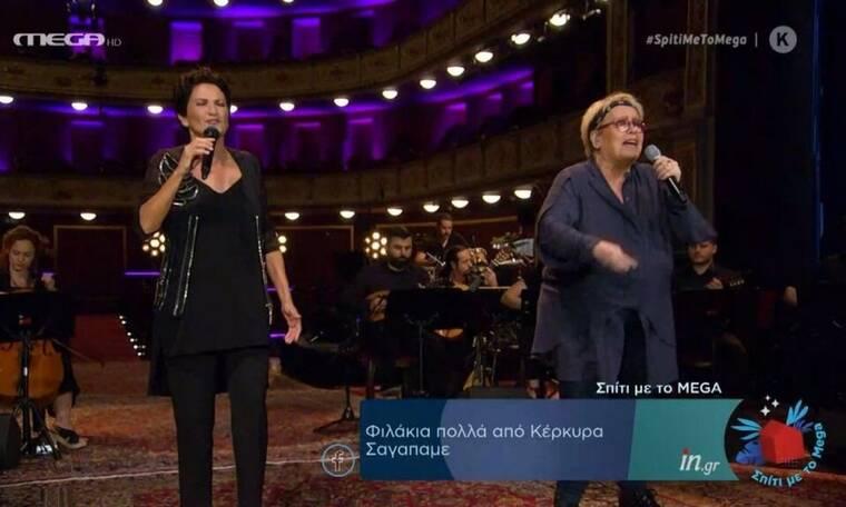 Άλκηστις Πρωτοψάλτη: «Μάγεψε» το κοινό με τις ερμηνείες της (video)