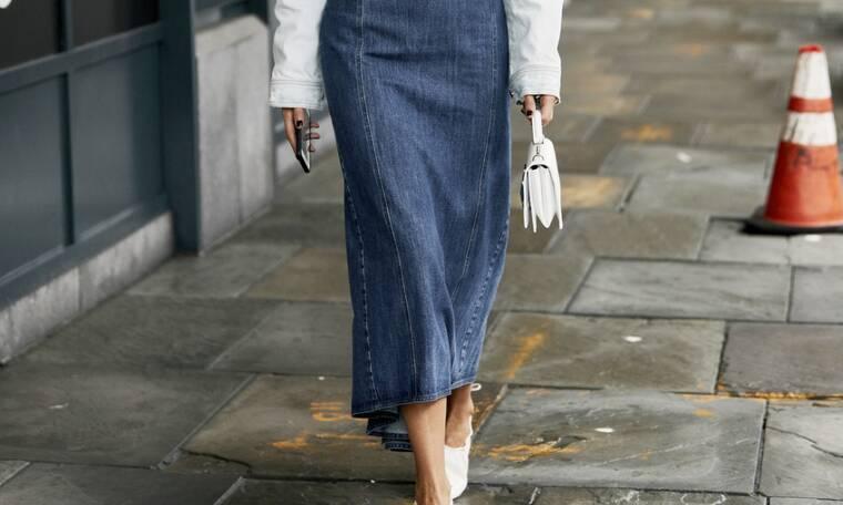 Οδηγός αγοράς: 10 denim φούστες για cool & στυλάτες φθινοπωρινές εμφανίσεις
