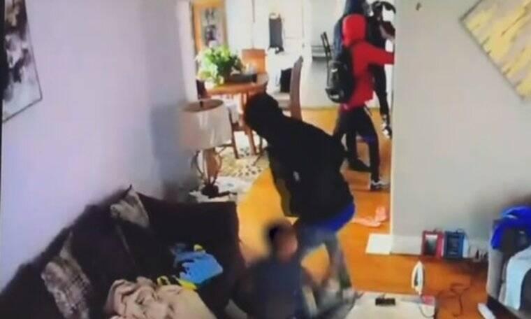 Θαρραλέος 5χρονος τα βάζει με διαρρήκτες που μπήκαν σπίτι του!