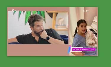 Χάρης Βαρθακούρης: Η έκπληξη από τις κόρες του και η συγκίνηση on camera!