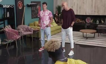 GNTM: Το σοκ των παικτών με την «εισβολή» του Βασίλη Μίχα στο σπίτι! (video)