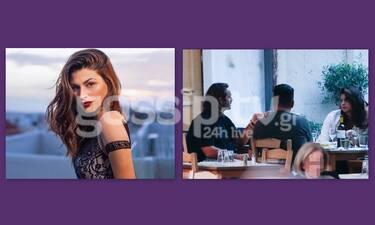 Δανάη Παππά: Ερωτευμένη στο κέντρο της Αθήνας με τον σύντροφό της - Σπάνιες φωτό