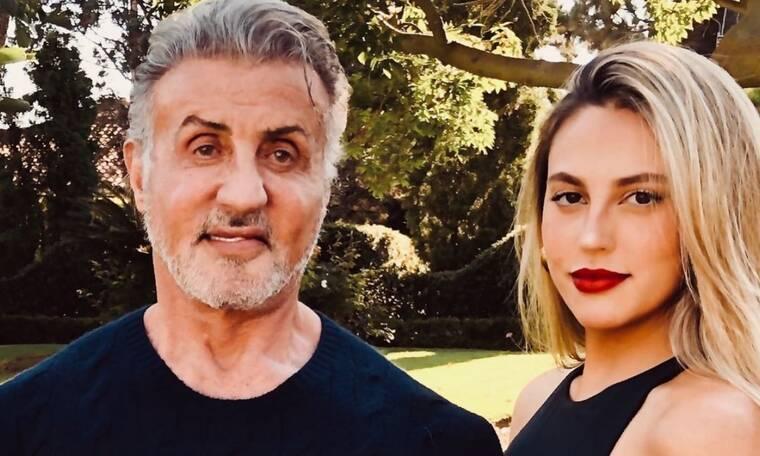 Η Sophia Stallone θέλει ο μπαμπάς να τρώει υγιεινά - Δείτε τι του έφτιαξε