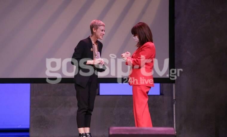 Απονομή Βραβείου Μελίνας Μερκούρη: Συγκινητική βραδιά παρουσία της Προέδρου