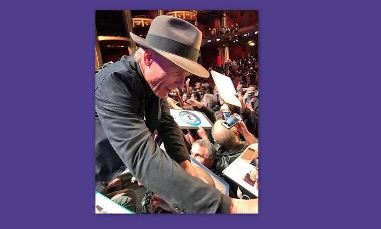 Ed Harris: Ο ηθοποιός του Χόλιγουντ στις Σπέτσες με παρέα - έκπληξη!