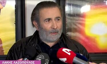 Λαζόπουλος:Το τηλεοπτικό του μέλλον και η απόφαση της Μενεγάκη να μείνει εκτός tv