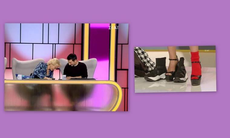 My style rocks: Η Έλενα Χριστοπούλου έμεινε πάλι... ξυπόλυτη! (Video)