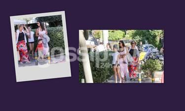 Όλγα Λαφαζάνη: Την έχει δει με τα παιδιά της! Όχι όμως με τη νεότατη μαμά της