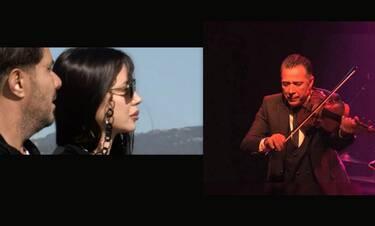 Ζήσης Κασιάρας: Συντετριμμένη η Πάολα στο τελευταίο αντίο του κορυφαίου βιολιστή