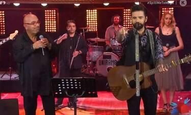 Συγκίνηση! Ζουγανέλης και Μαραντίνης τραγούδησαν για τον Μαχαιρίτσα