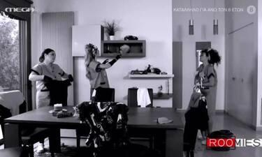 Τρελό γέλιο! Οι Roomies διασκεύασαν Έλενα Παπαρίζου (Video)