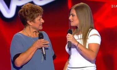 The Voice: Κι όμως! Διαγωνιζόμενη τραγούδησε στα ποντιακά μαζί με τη γιαγιά της!