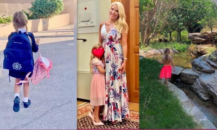 Μαρίνα Παντζοπούλου: Οι φώτο της 5χρονης κόρης της Μενεγάκη που έγιναν viral