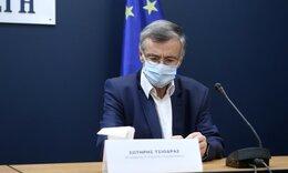 Κορονοϊός - Τσιόδρας: Αδύνατον να ελεγχθεί η διασπορά του ιού - Η μάσκα μόνη μας επιλογή