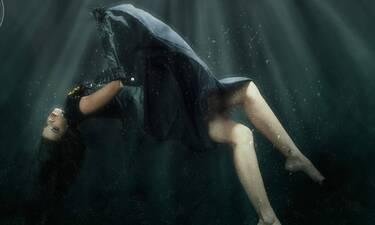 Εντυπωσιάζουν οι υποβρύχιες λήψεις της Τζένης Καζάκου (pics)
