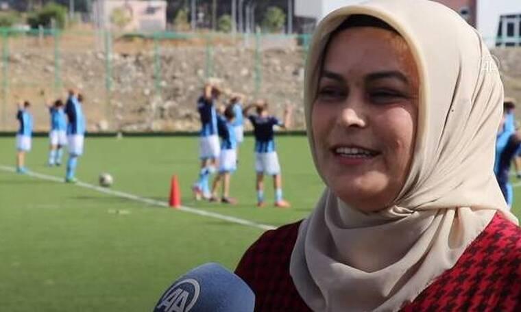 Τουρκία: Μητέρα ίδρυσε ομάδα ποδοσφαίρου για την γιο της! (video)