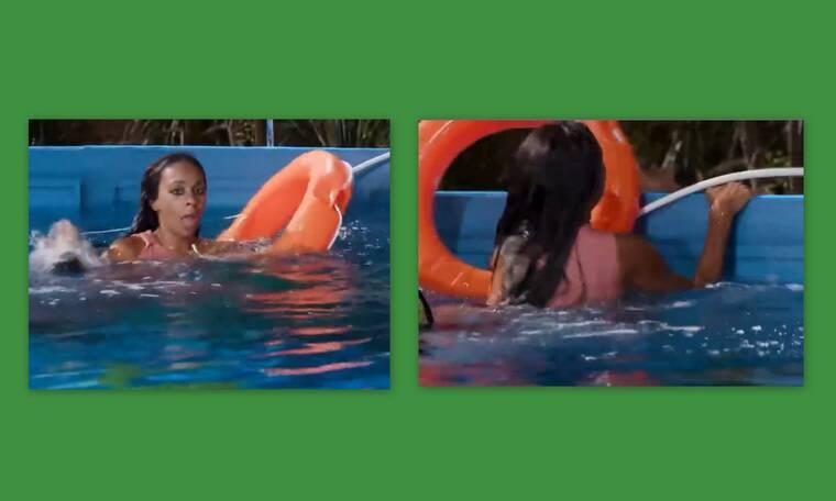 "GNTM: Χαμός με τη Ρασέλ στην πισίνα – ""Δεν μπορώ, πνίγομαι"""