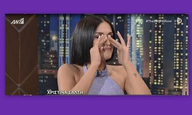 Χριστίνα Σάλτη: Λύγισε on air μιλώντας για την ενδοοικογενειακή βία στο σπίτι της