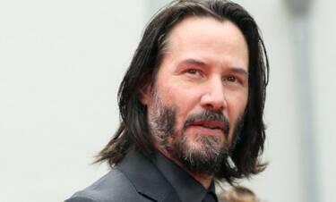 Ο Keanu Reeves ξυρίστηκε και θα σε αφήσει με το στόμα ανοιχτό
