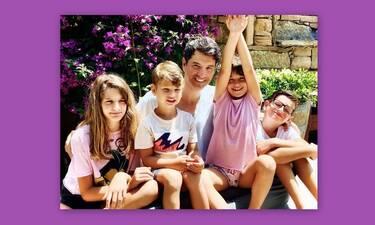 Σάκης Ρουβάς: Οι φωτό με τα παιδιά του που έχουν «ρίξει» το Instagram!