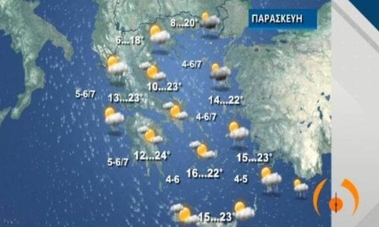 Καιρός: Συνολικά 7 υδροστρόβιλοι στο Αιγαίο - Τι ακολουθεί στη συνέχεια (video)