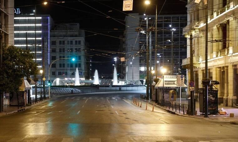 Αθήνα: Πώς μοιάζει η άδεια Αθήνα μετά την απαγόρευση κυκλοφορίας;
